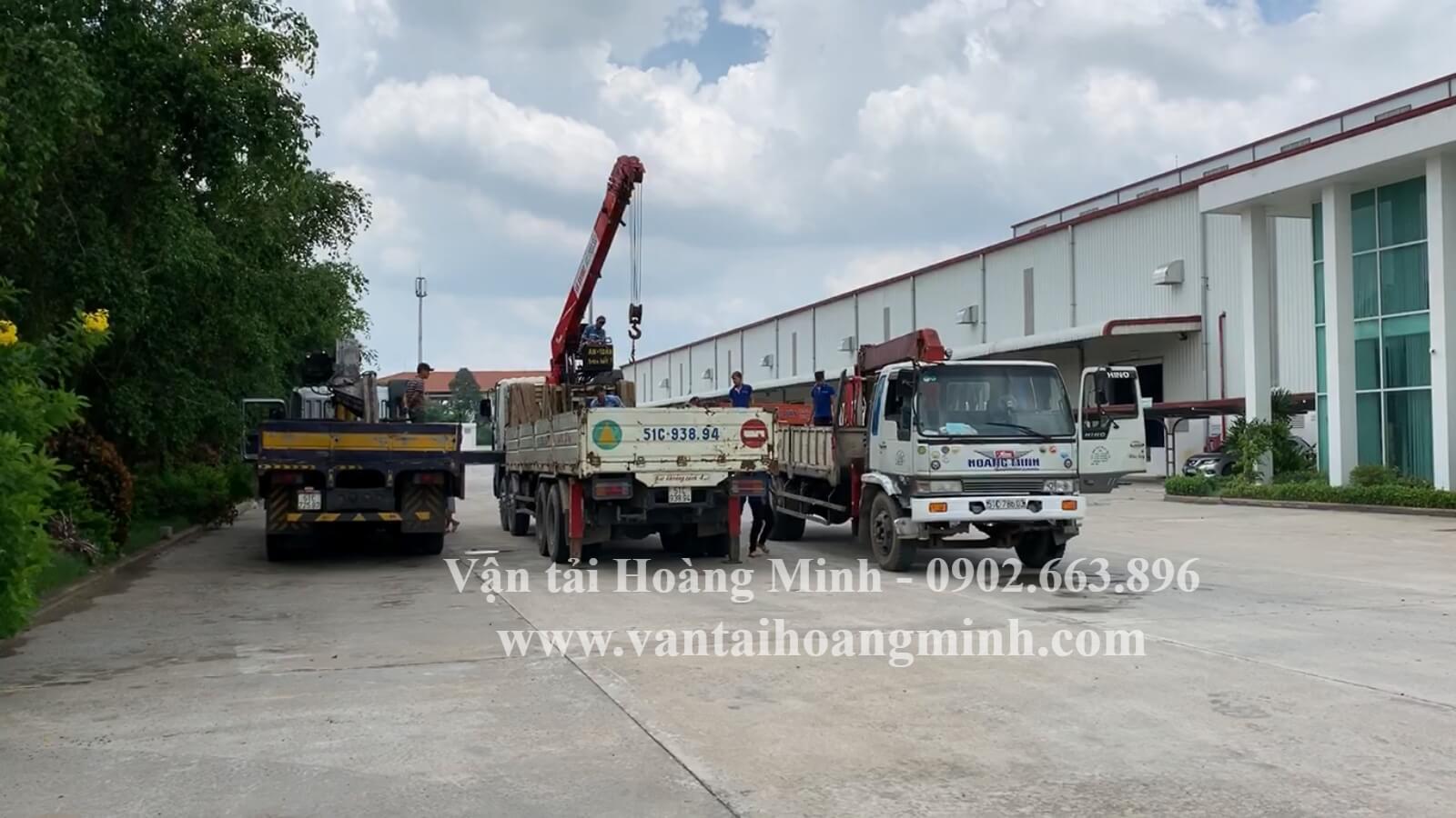 Dịch vụ xe cẩu tải KCN Long Đức