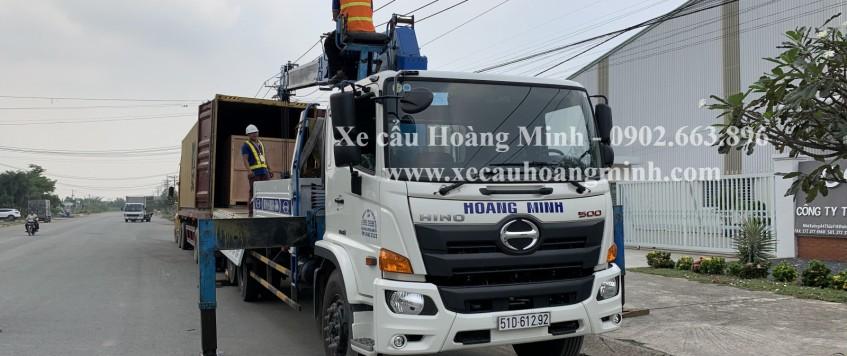 Cho thuê xe cẩu Hoàng Minh