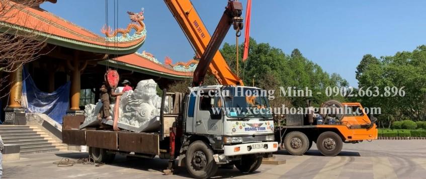 Dịch vụ xe cẩu KCN Tân Thành