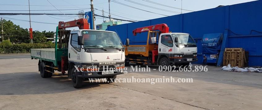 Cho thuê xe cẩu QUẬN 5, TPHCM   Thi công Nhanh – An toàn