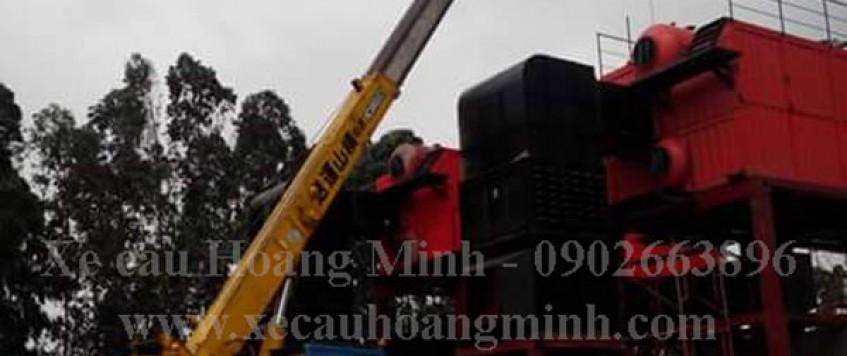 Cho thuê xe cẩu tải huyện Bàu Bàng