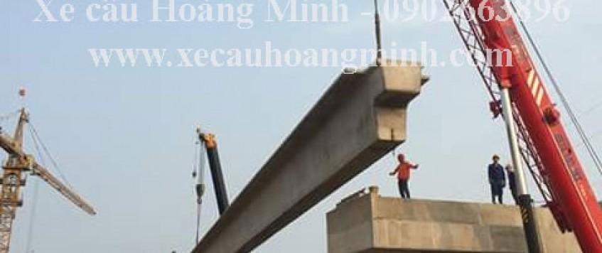 Cho thuê xe cẩu tải huyện Thủ Thừa