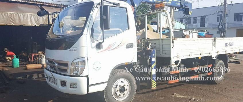 Cho thuê xe cẩu tải huyện Bến Lức