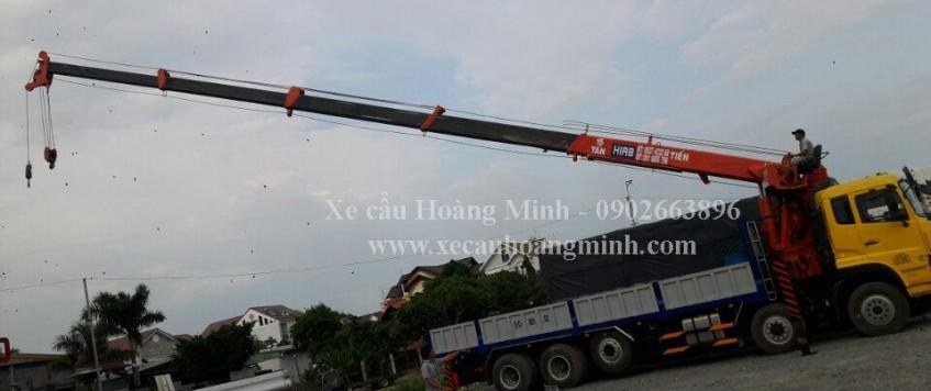 Cho thuê xe cẩu tải huyện Hóc Môn