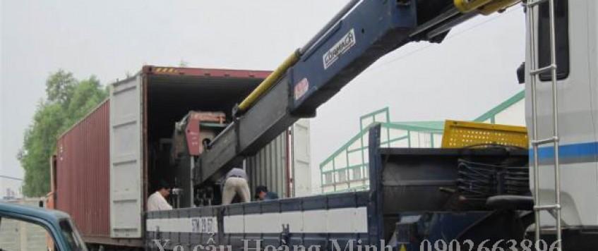 Cho thuê xe cẩu tải huyện Thạnh Hóa