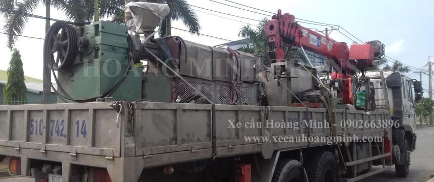 Cho thuê xe cẩu tải huyện Nhơn Trạch