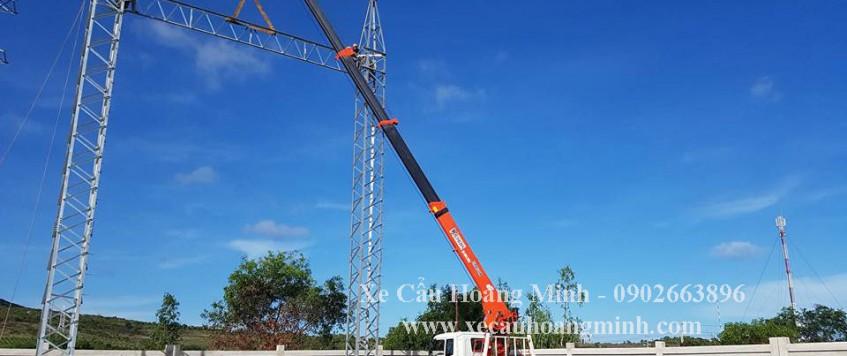 Cho thuê xe cẩu tải Quận Tân Bình