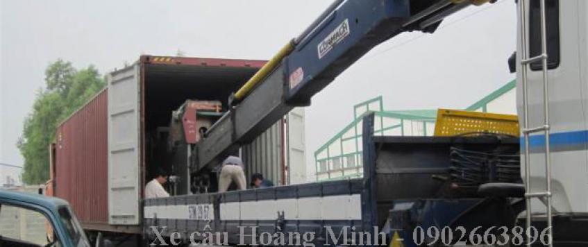 Cho thuê xe cẩu tải tỉnh Trà Vinh