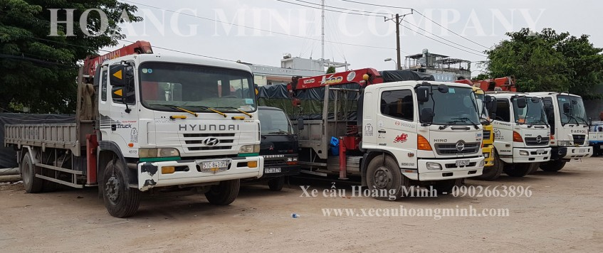 Dịch vụ xe cẩu tải KCN Mỹ Tho