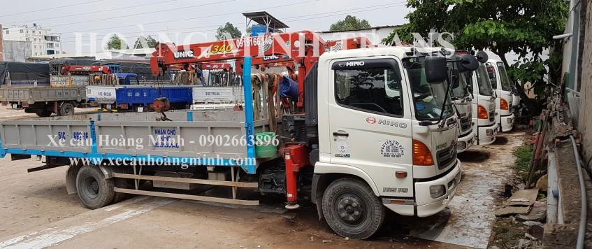 Dịch vụ xe cẩu tải quận Bình Thạnh
