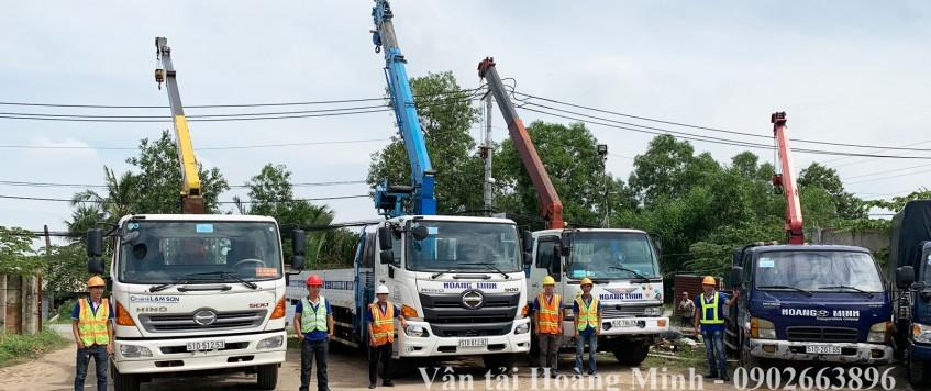 Xe cẩu Hoàng Minh – Dịch vụ cho thuê xe cẩu tại TpHCM