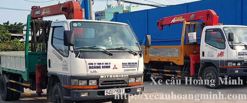 Dịch vụ cho thuê xe cẩu hàng hóa uy tín – chất lượng
