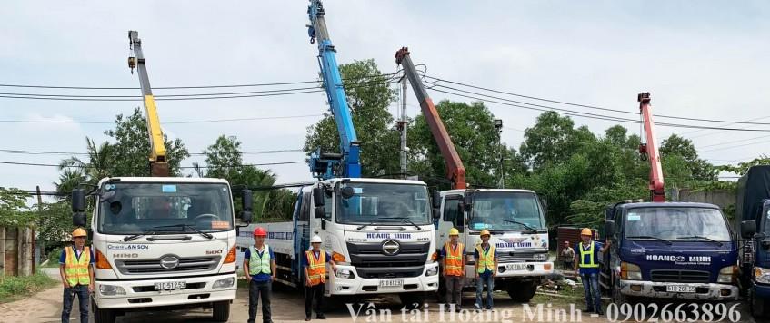 Cho thuê xe cẩu tải Đồng Nai